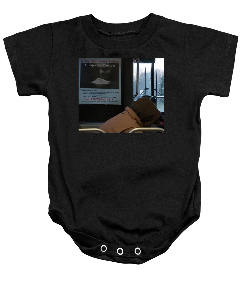 Photography Baby Onesie featuring the photograph Addiction by Steven Natanson