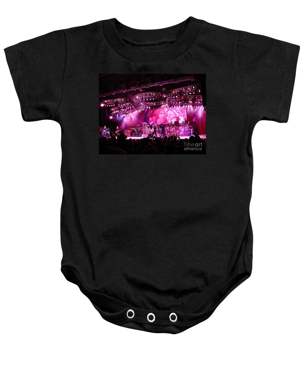 Aerosmith Baby Onesie featuring the photograph Aerosmith-00005 by Gary Gingrich Galleries