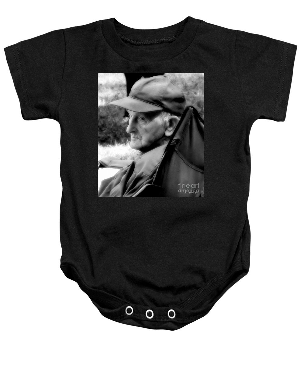 Farmer Baby Onesie featuring the photograph After The Pull by RC DeWinter