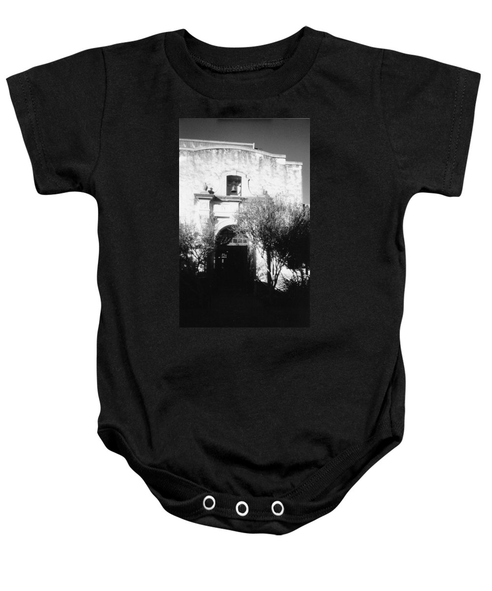 Alamo Baby Onesie featuring the photograph Alamo by Pharris Art
