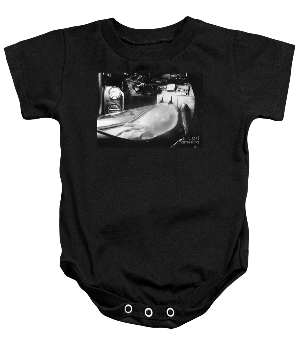 20th Century Baby Onesie featuring the photograph Alien Photograph by Granger