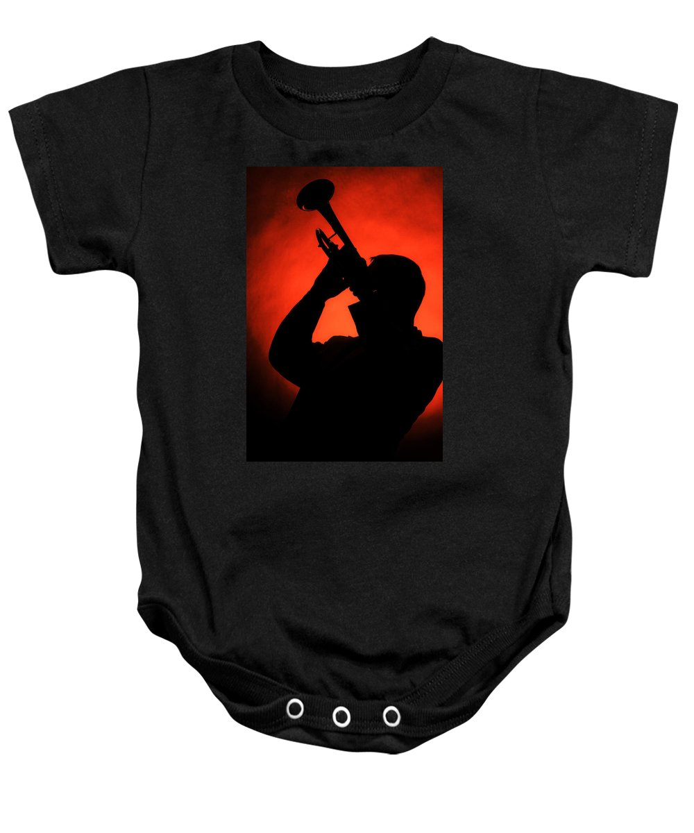 Fine Art Baby Onesie featuring the photograph All That Jazz by M K Miller