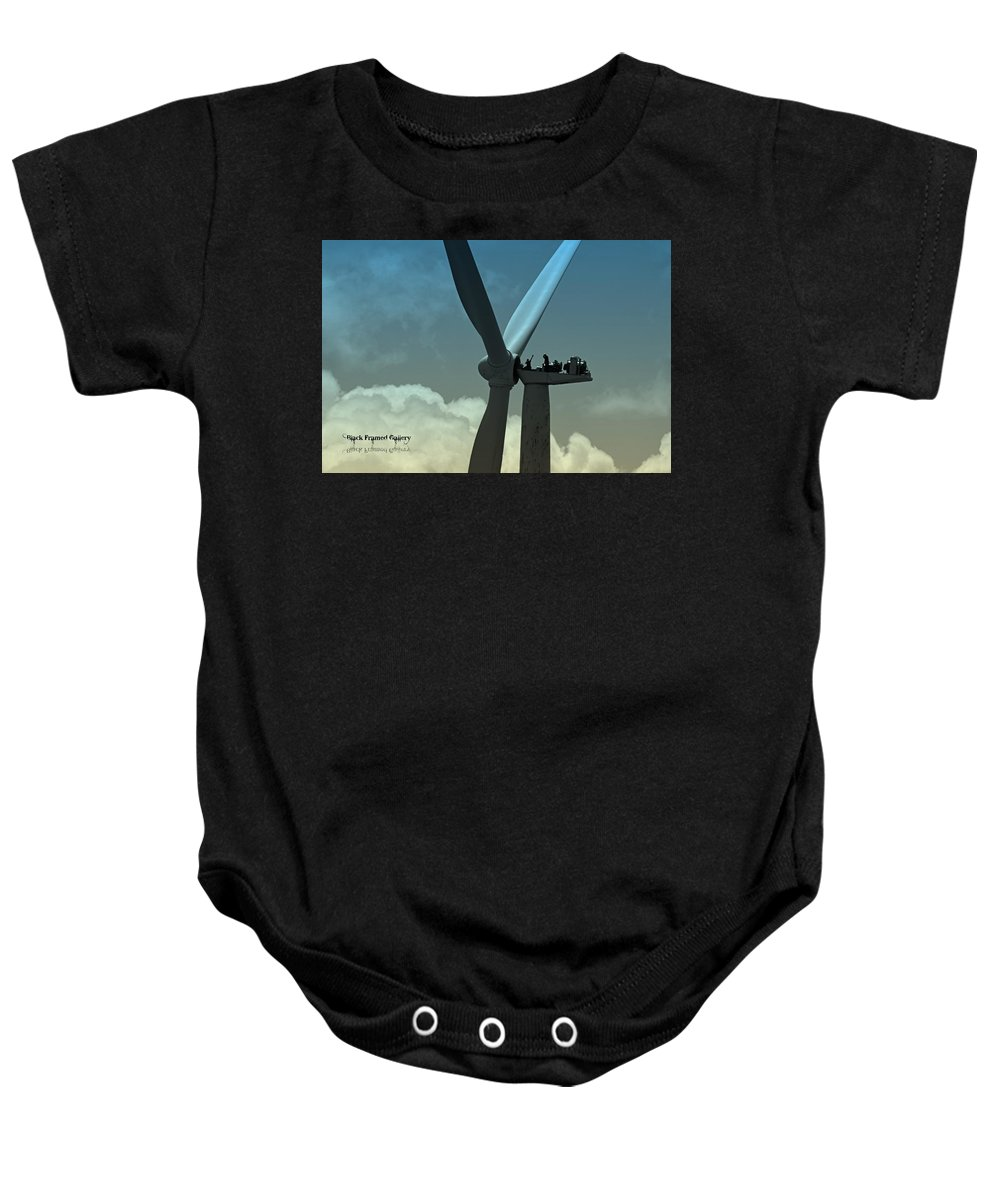 In God's Eyes We Are Perfect! He Puts Us In His Perfect Plan! Baby Onesie featuring the photograph Almost Out Of Sight by Kurt Keller