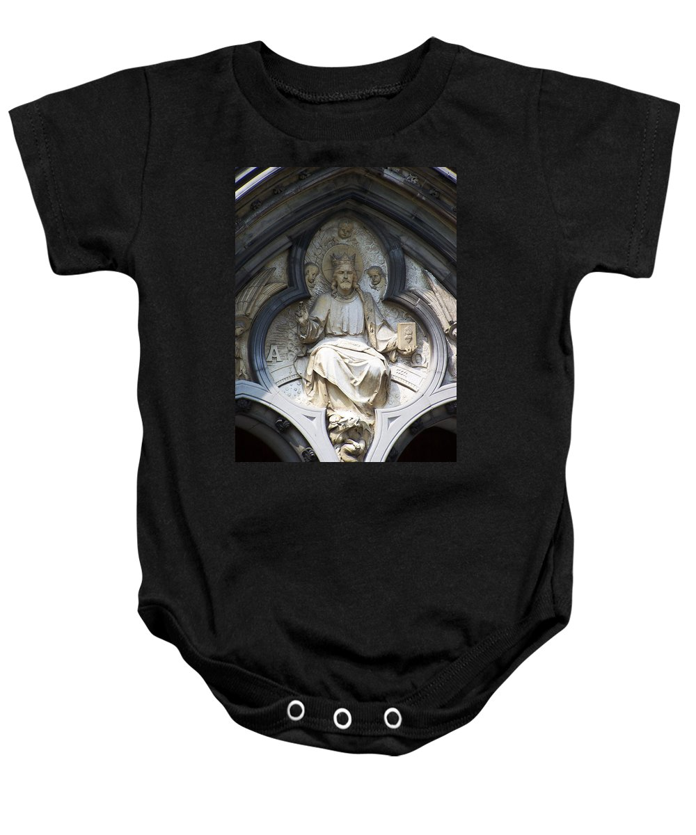 Ireland Baby Onesie featuring the photograph Alpha And Omega by Teresa Mucha