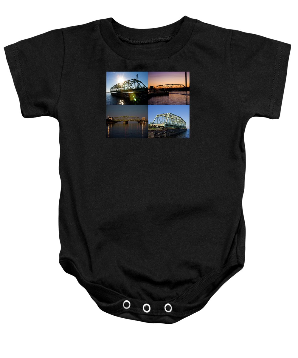 Topsail Baby Onesie featuring the photograph Always At Work by Betsy Knapp