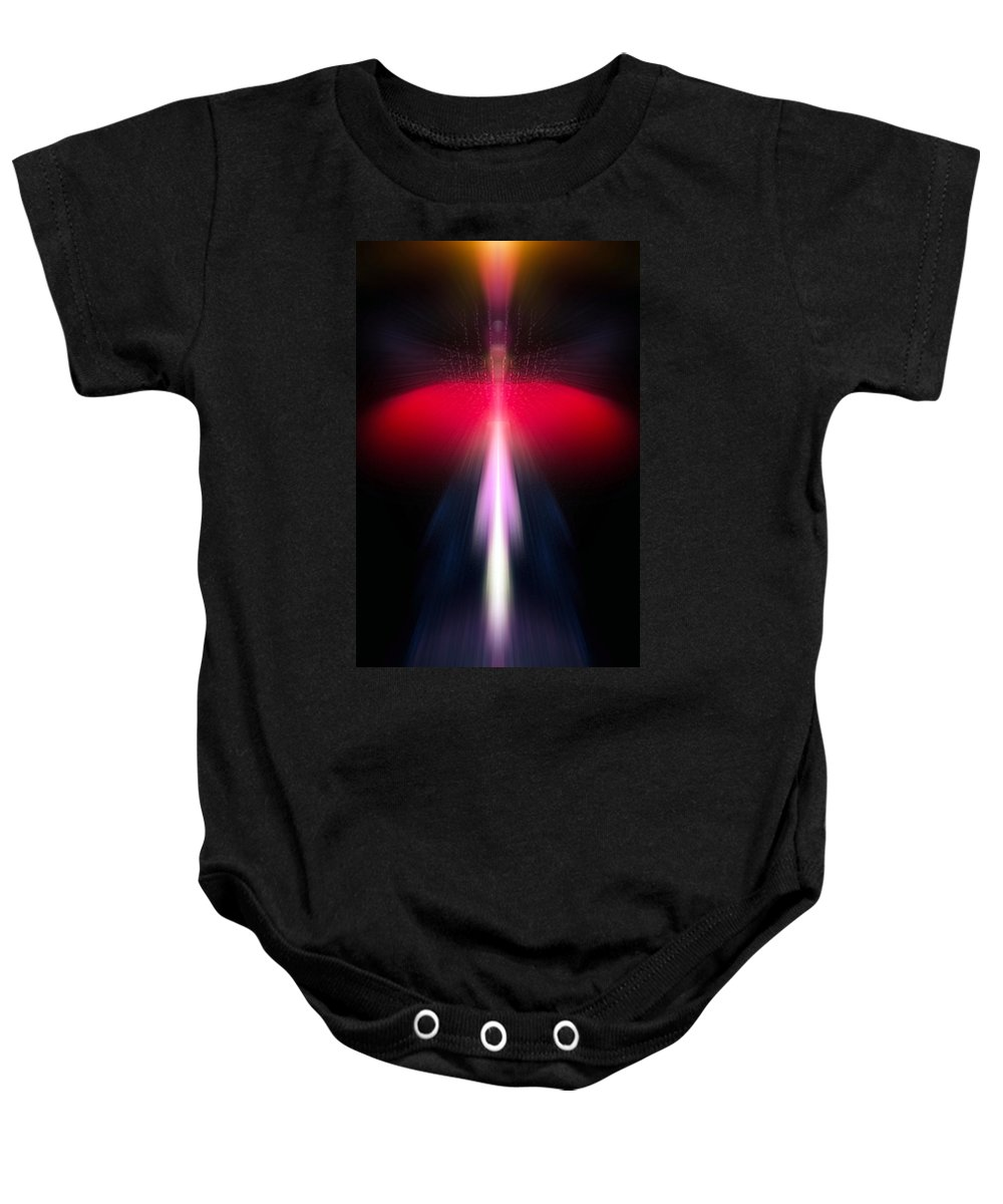 Angel Baby Onesie featuring the digital art Amriel by Raymel Garcia