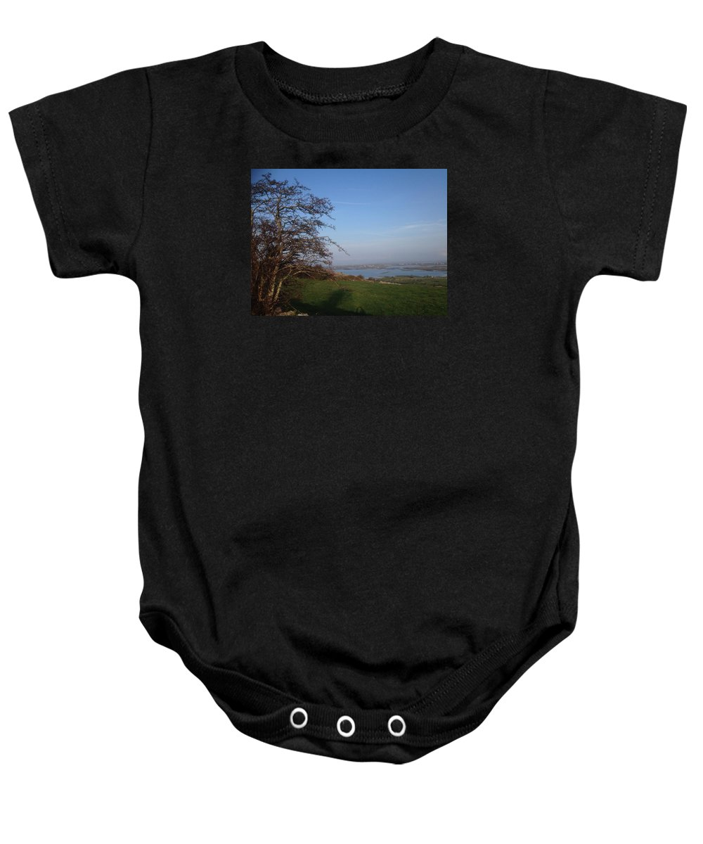West Of Ireland Baby Onesie featuring the photograph An Autumn Afternoon, Ireland by Eoin Gleeson