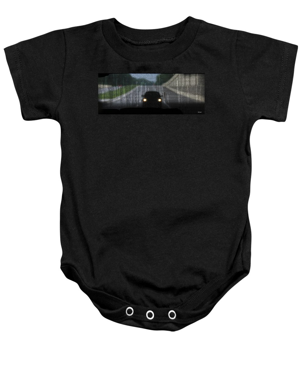 An Unwelcome Guest Baby Onesie featuring the photograph An Unwelcome Guest by Ed Smith