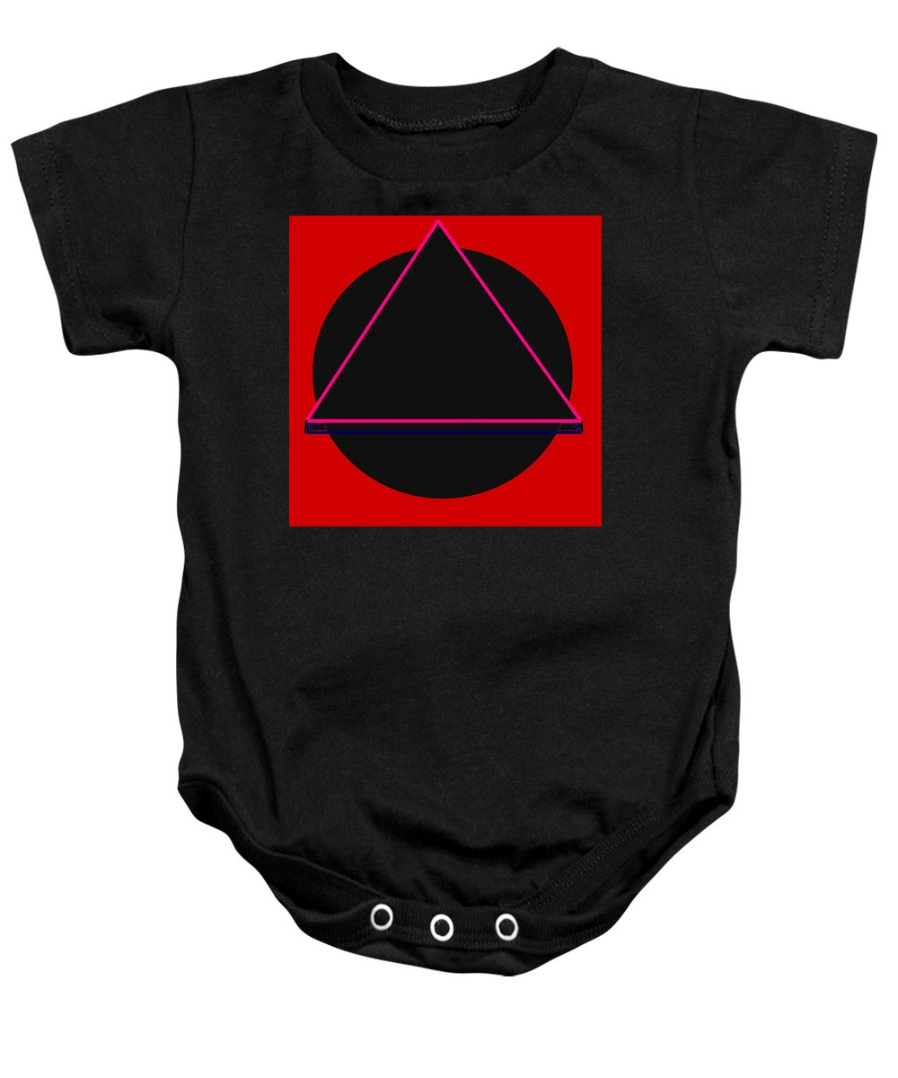 Social Justice Art Baby Onesie featuring the digital art And It Flowed by Pharris Art