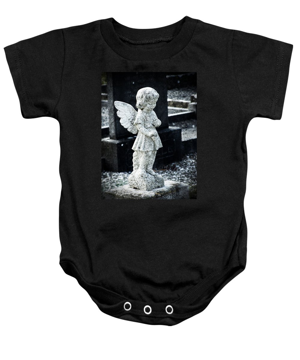 Ireland Baby Onesie featuring the photograph Angel In Roscommon No 3 by Teresa Mucha