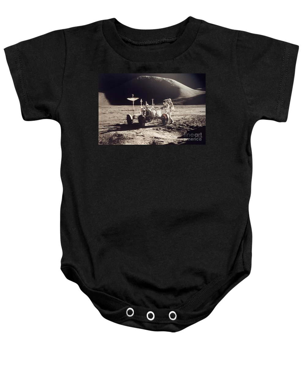1971 Baby Onesie featuring the photograph Apollo 15, 1971 by Granger
