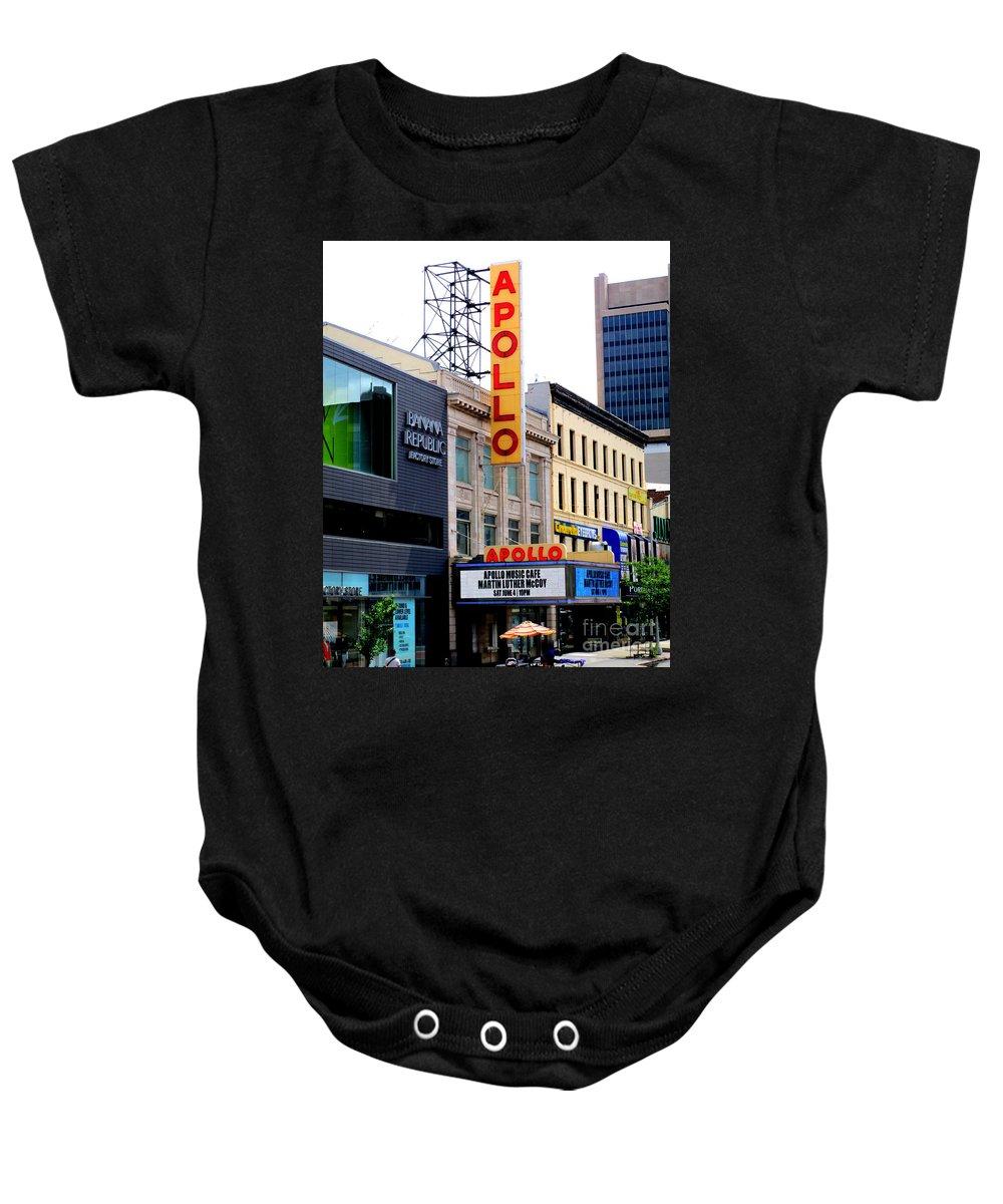 Apollo Theater Baby Onesies