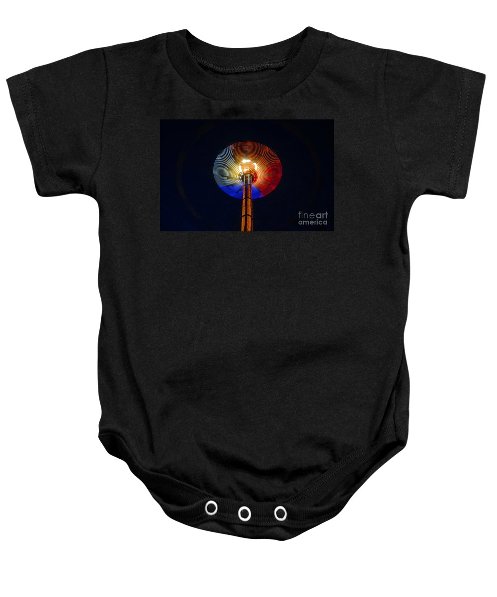 Modern Baby Onesie featuring the photograph Area 51 by David Lee Thompson