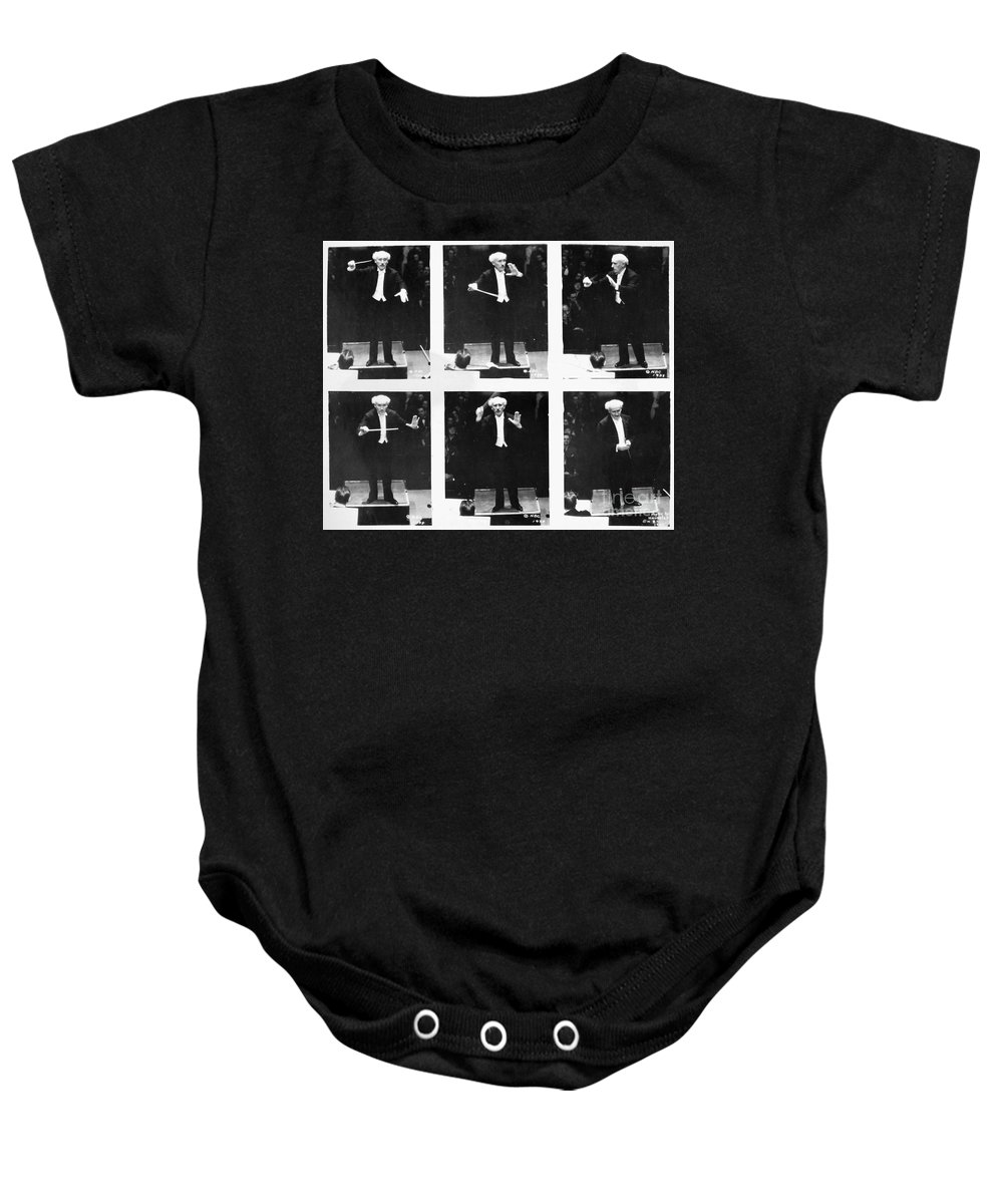 1938 Baby Onesie featuring the photograph Arturo Toscanini by Granger