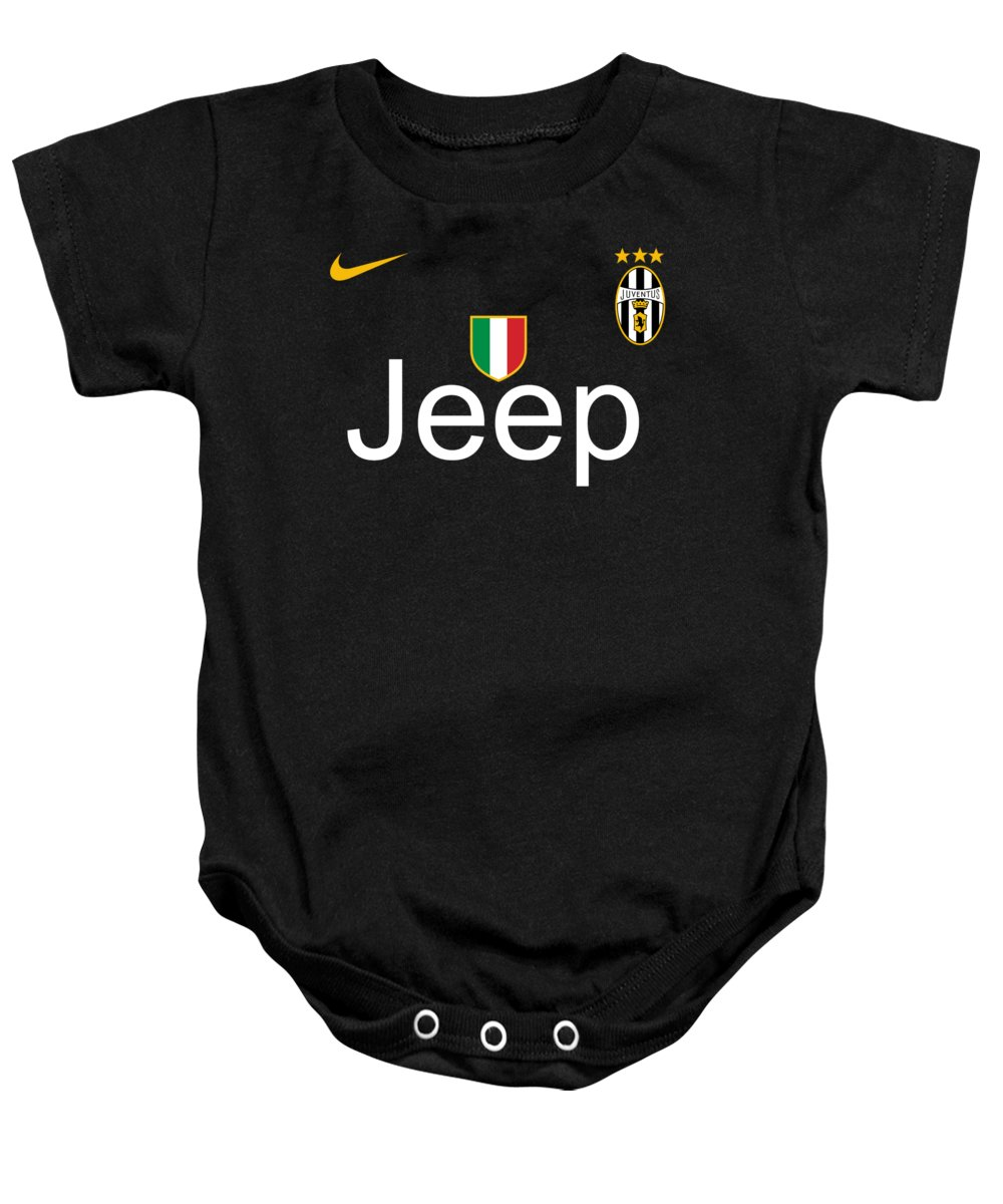 Juventus Black Baby Onesie