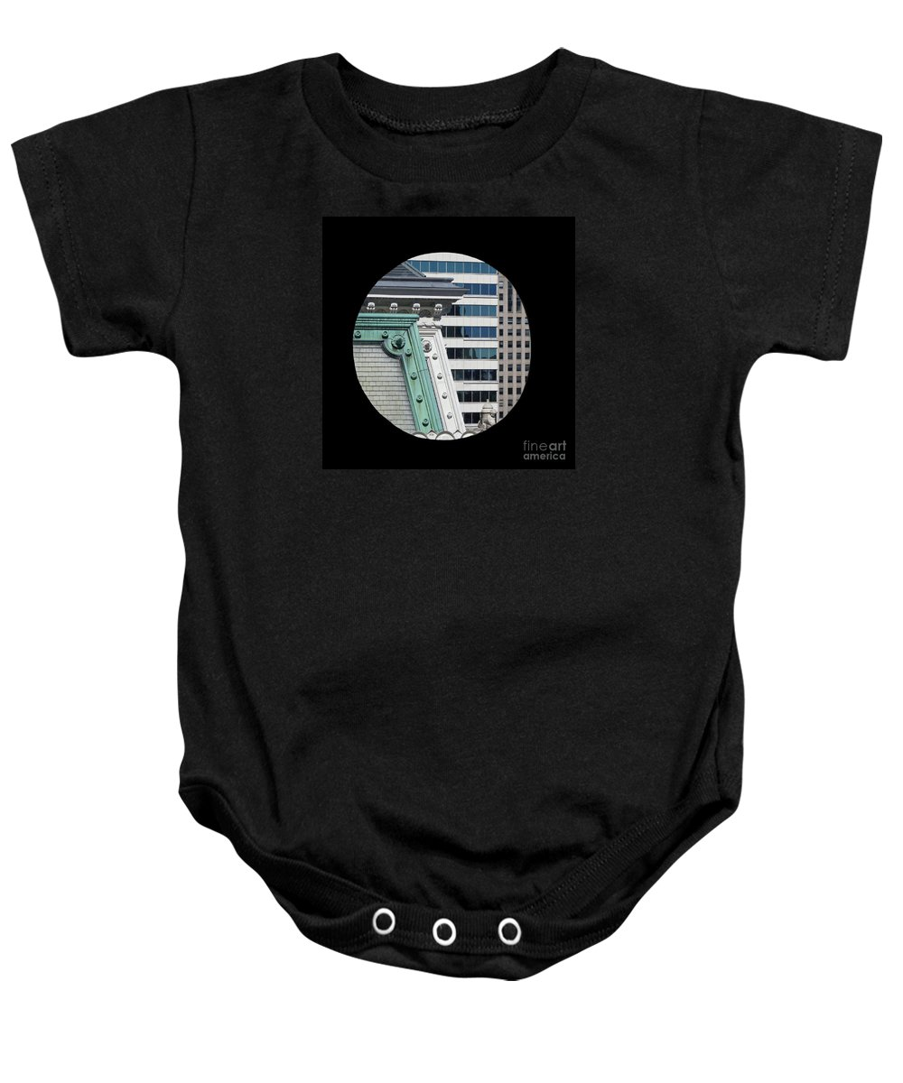 Philadelphia Baby Onesie featuring the photograph As A Bird Sees Philly by Ann Horn