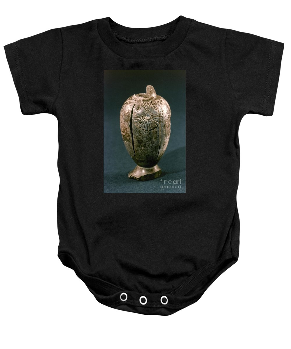 8th Century B.c. Baby Onesie featuring the photograph Assyrian Jug by Granger