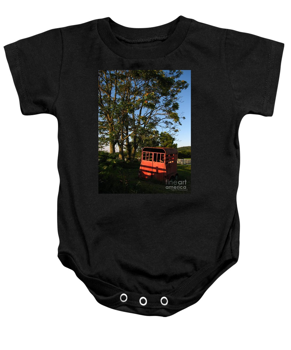 Landscape Baby Onesie featuring the photograph At Rest by Todd A Blanchard