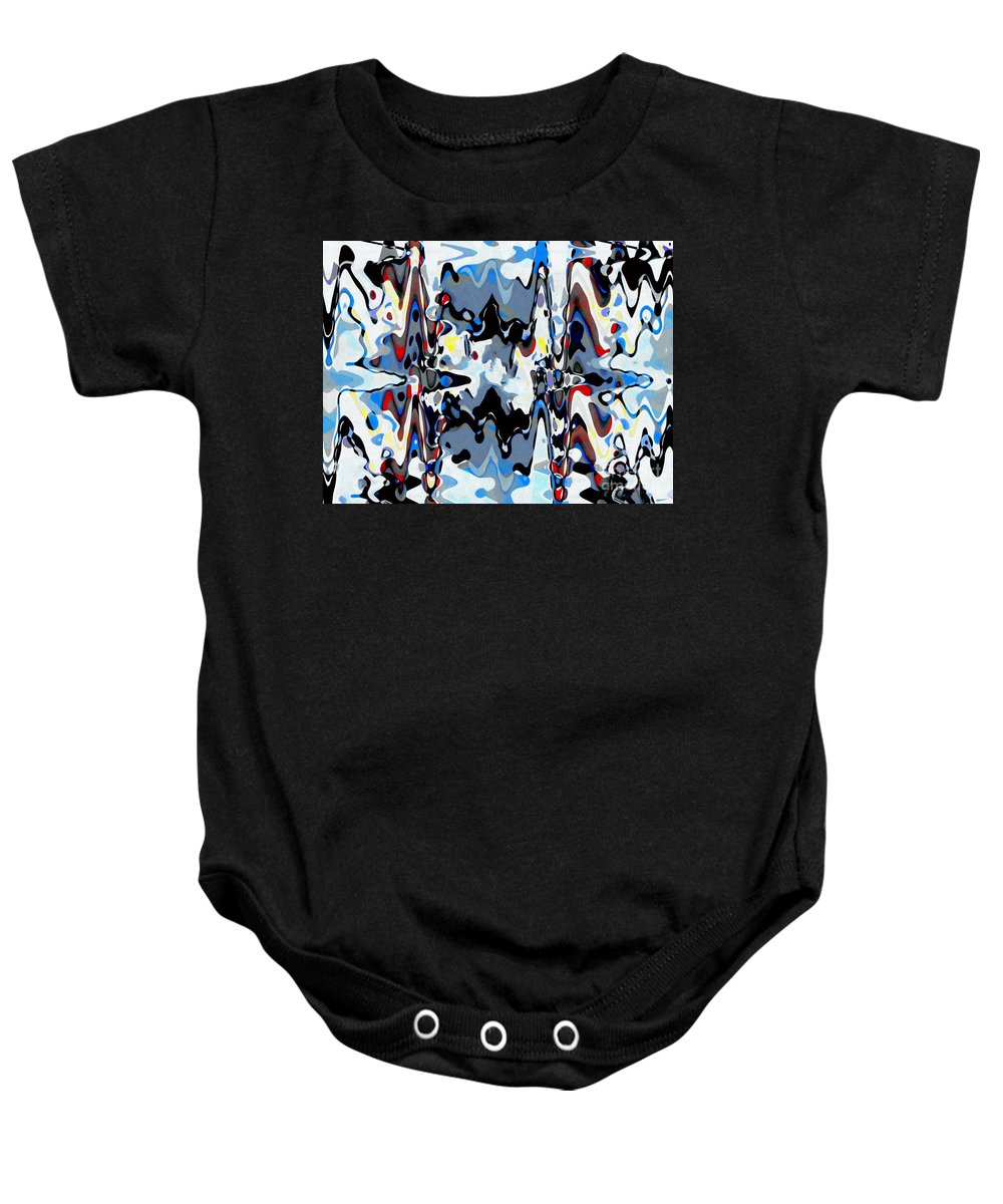 Attraction Baby Onesie featuring the digital art Attraction by Fauvy
