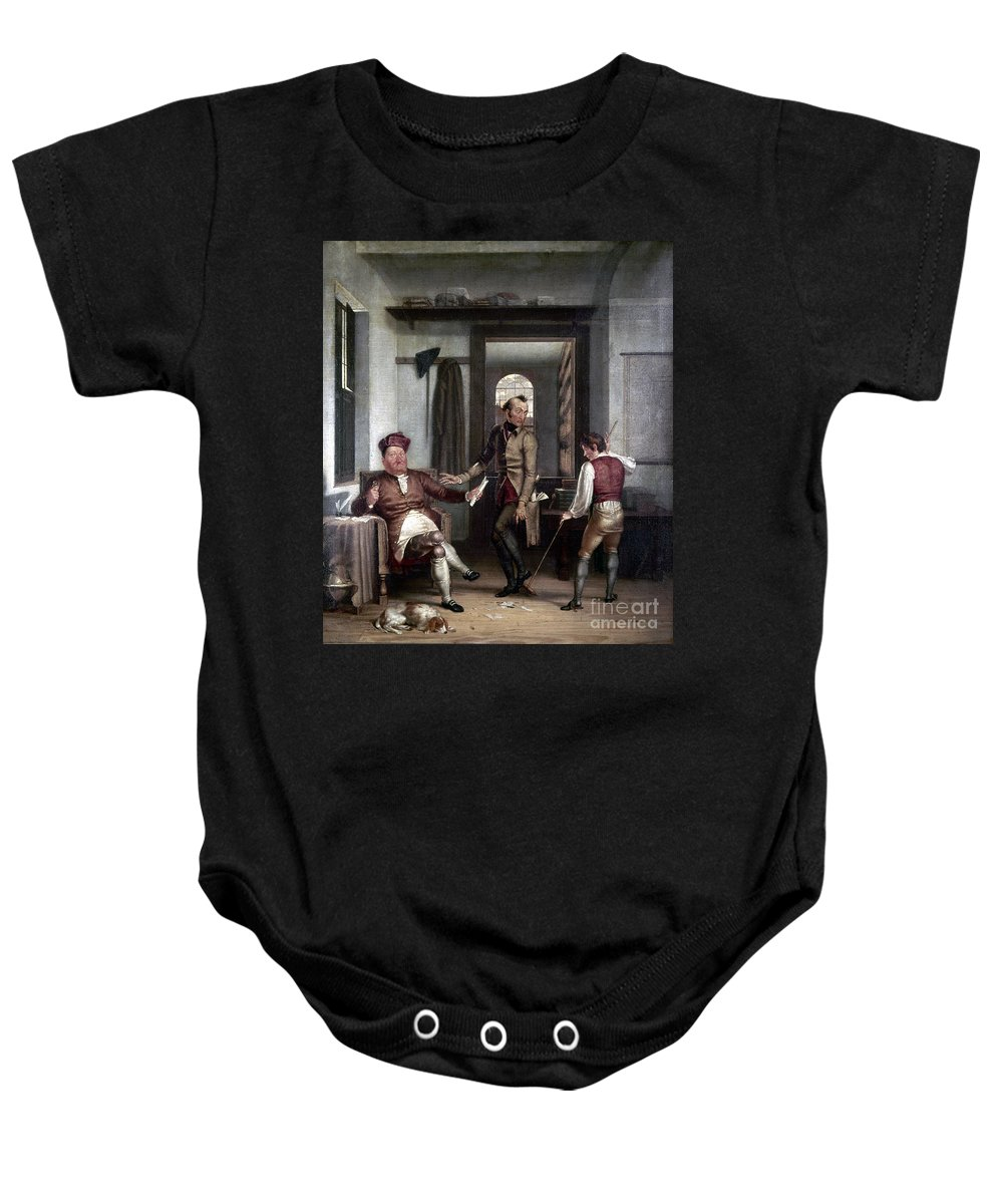 1811 Baby Onesie featuring the photograph Author & Bookseller, 1811 by Granger