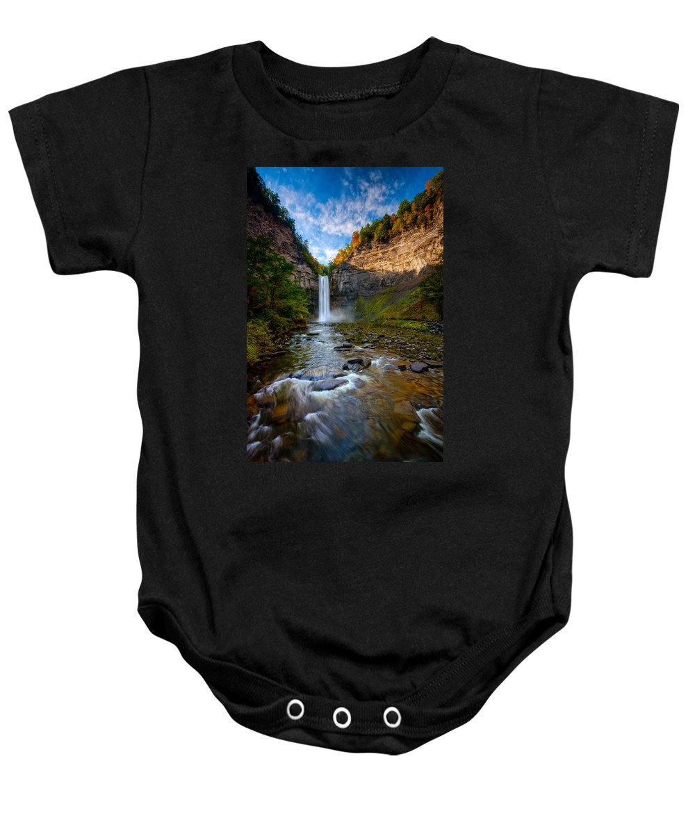 Taughannock State Park Baby Onesie featuring the photograph Autumn Riches by Neil Shapiro