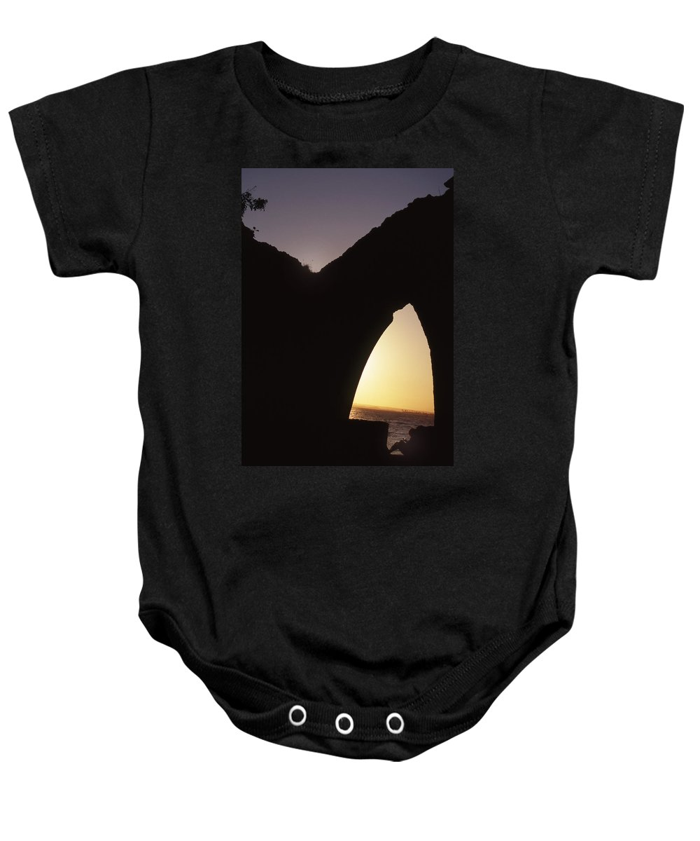 Bahia Baby Onesie featuring the photograph Bahian Sunset by Patrick Klauss