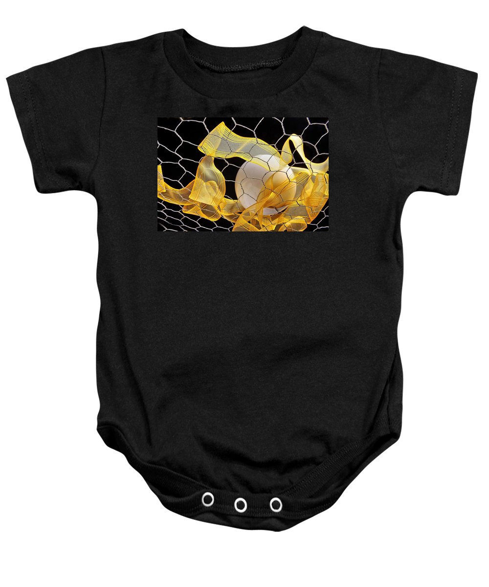 Ball Baby Onesie featuring the photograph Ball by Manfred Lutzius