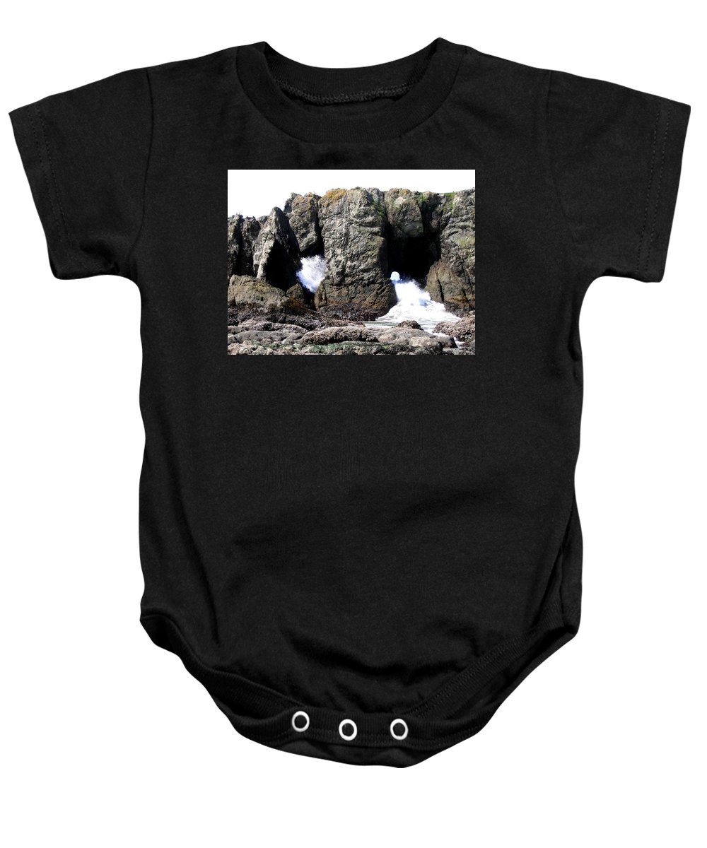 Bandon Baby Onesie featuring the photograph Bandon 17 by Will Borden