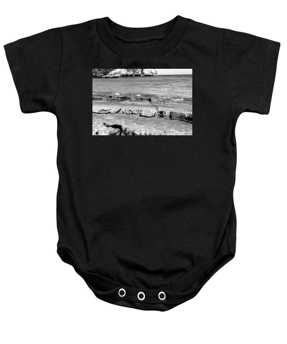 Beach Baby Onesie featuring the photograph Beach At Dominican Republic by Robert Smith