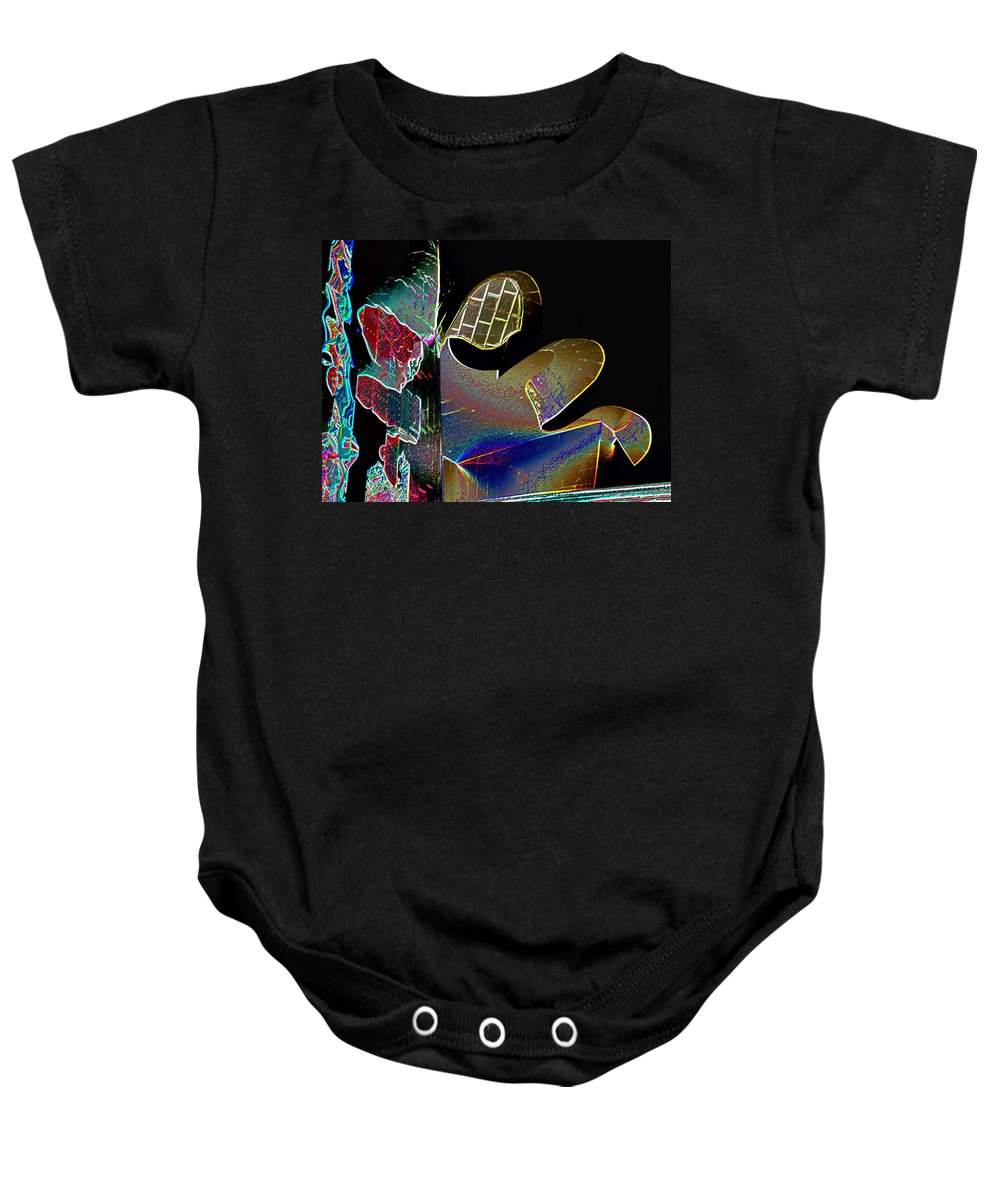 Music Baby Onesie featuring the photograph Beauty Of Music by Tim Allen