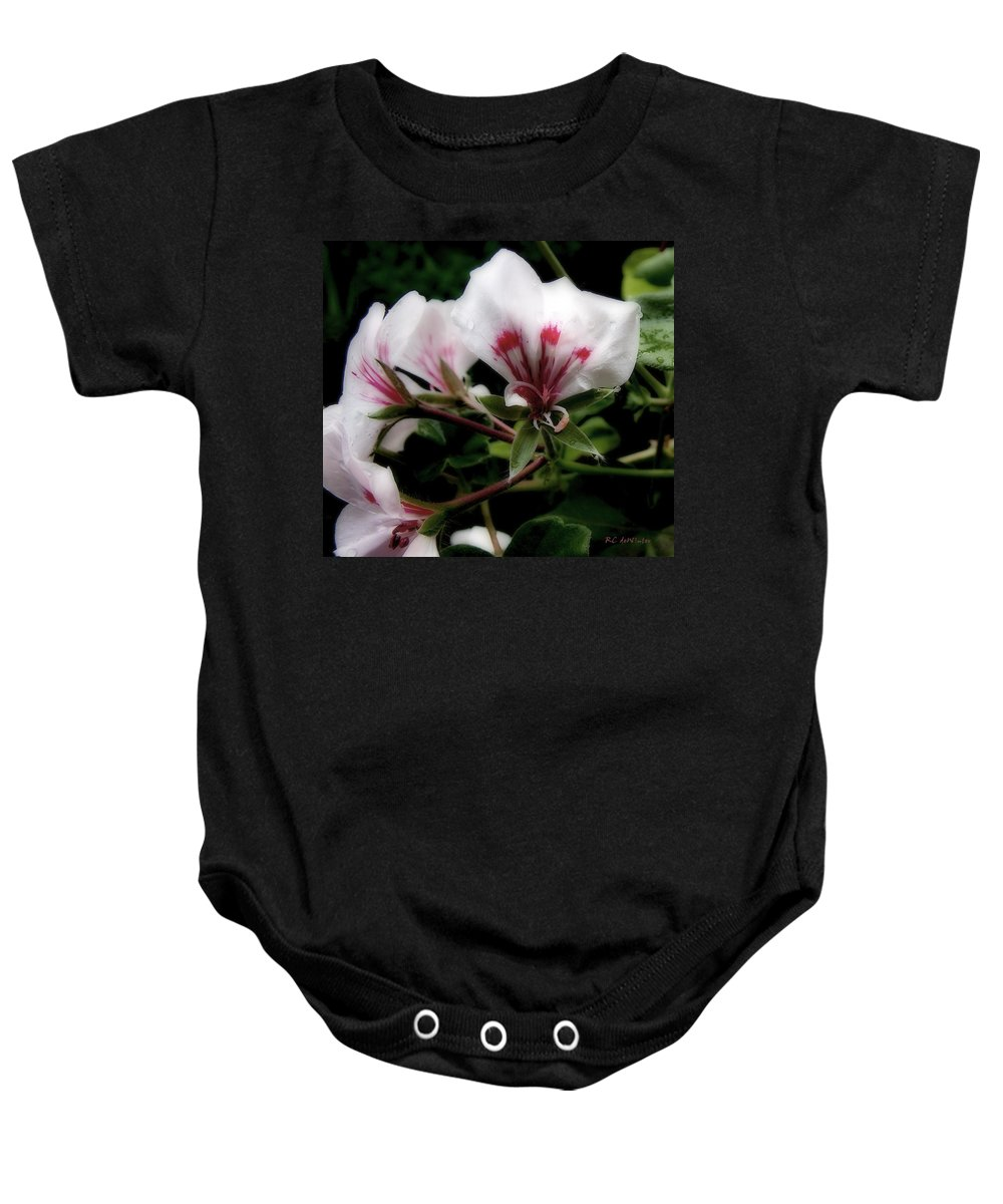 Cherry Baby Onesie featuring the photograph Bejewelled by RC DeWinter