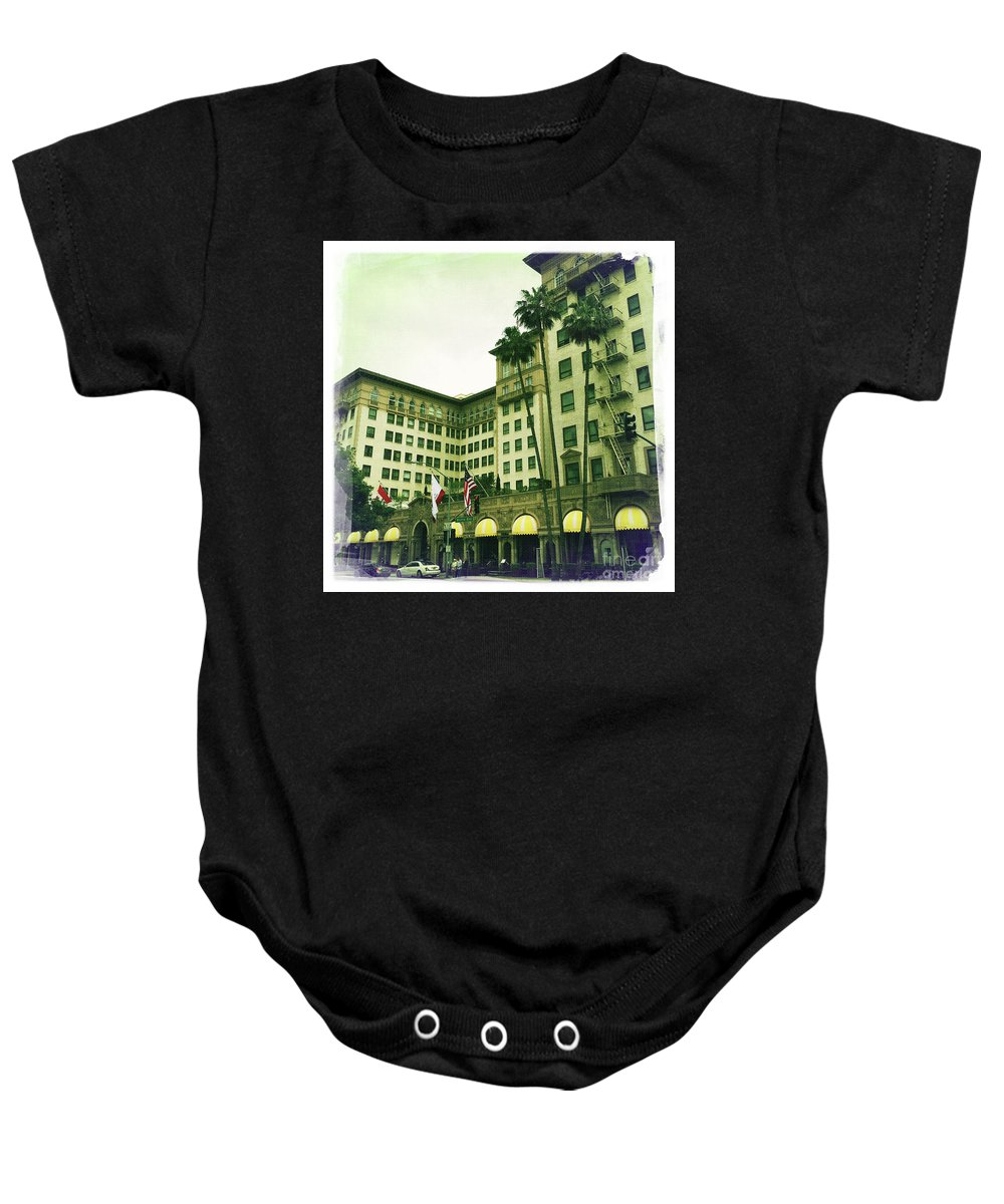 Beverly Hills Baby Onesie featuring the photograph Beverly Hills Rodeo Drive 4 by Nina Prommer