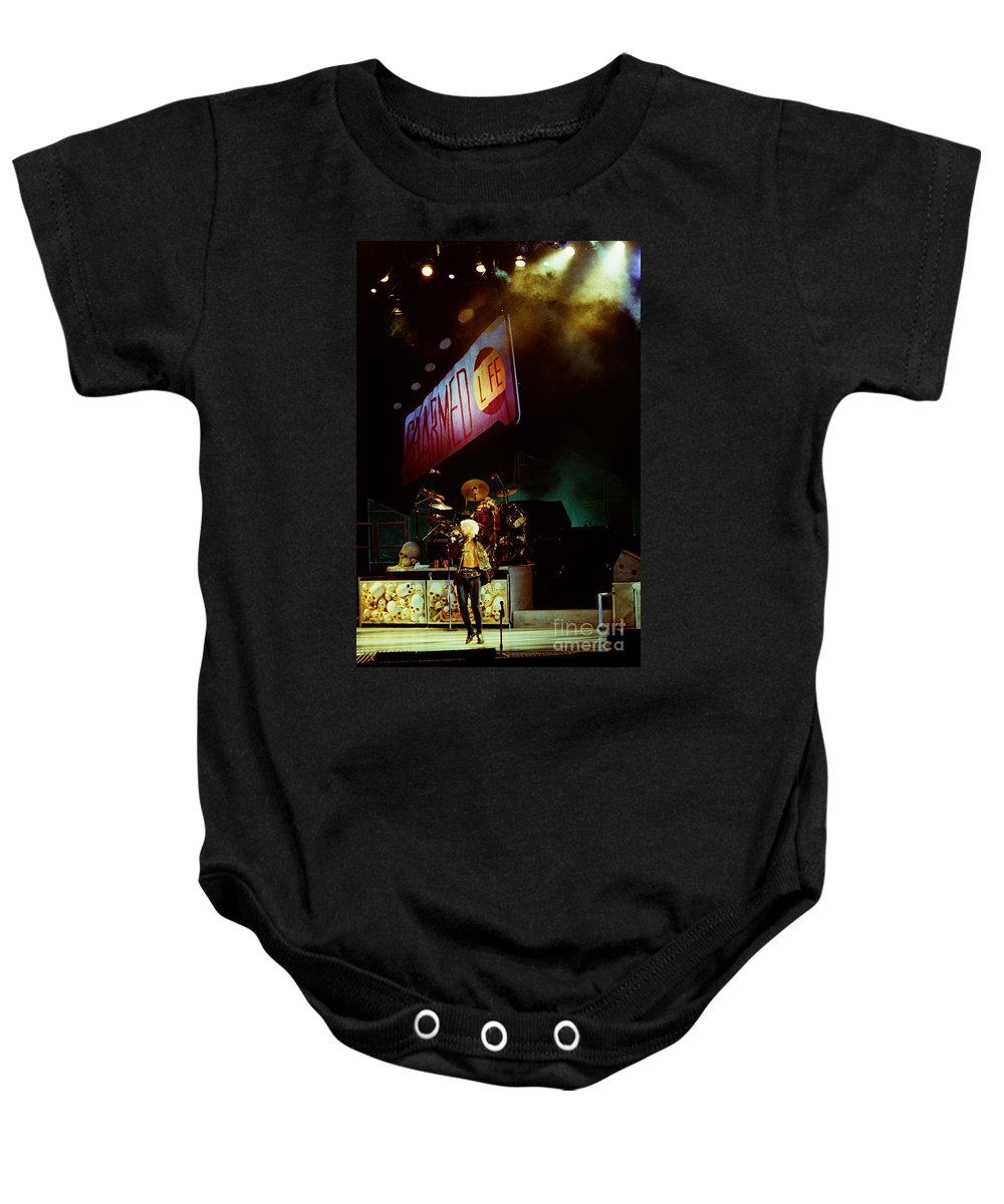 Billy Idol Baby Onesie featuring the photograph Billy Idol 90-2279 by Gary Gingrich Galleries