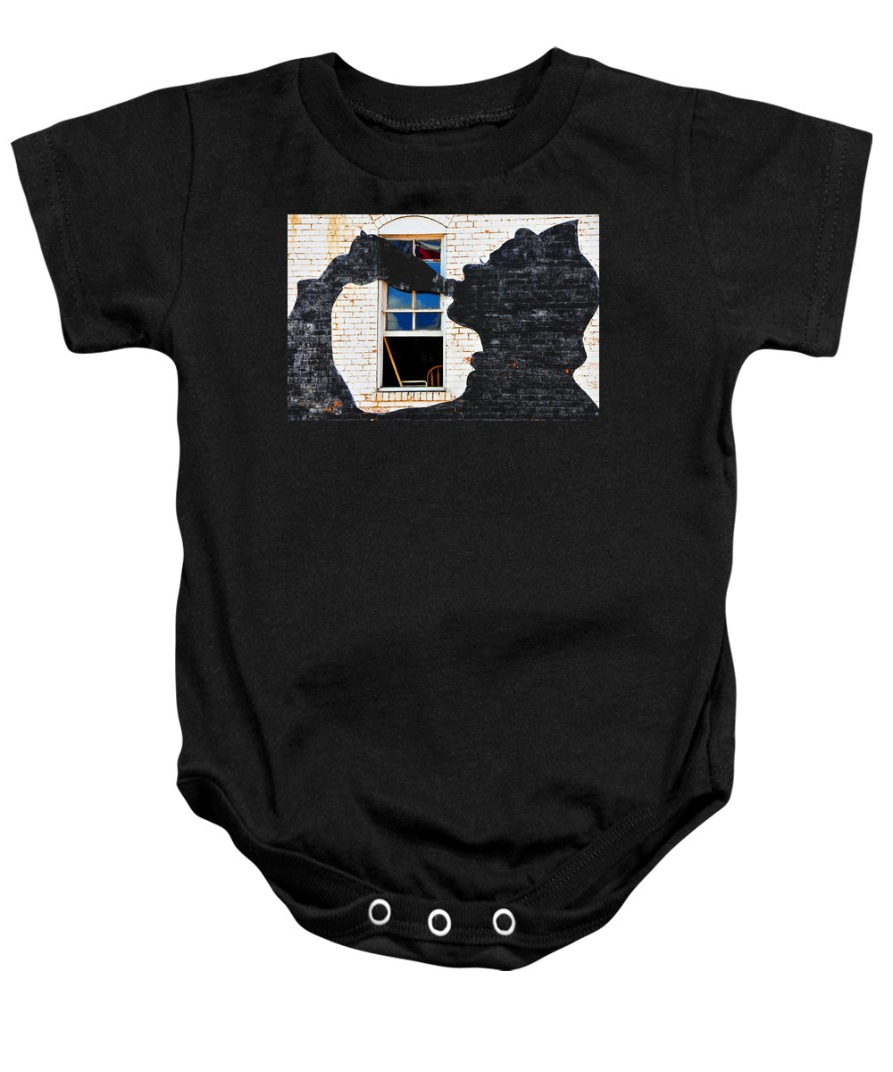 Photography Baby Onesie featuring the photograph Black Betty by Skip Hunt