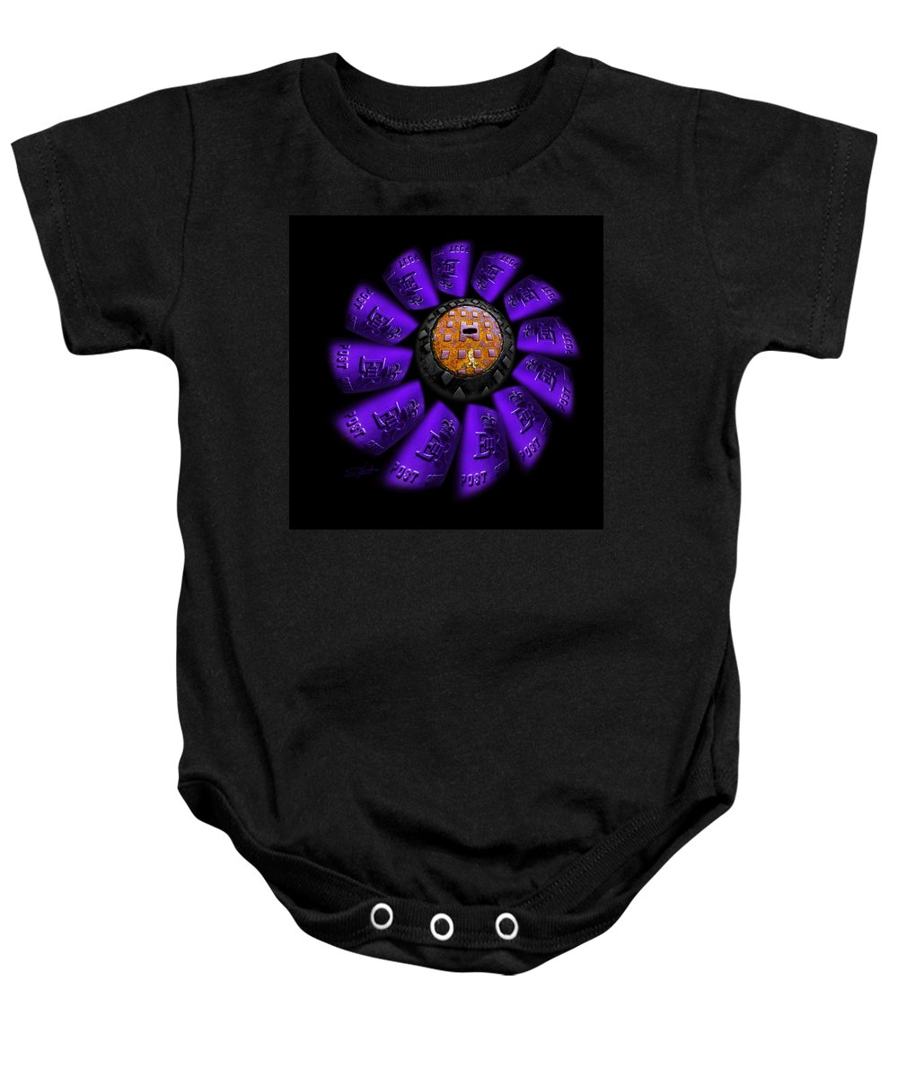 Flower Baby Onesie featuring the photograph Bloom by Charles Stuart