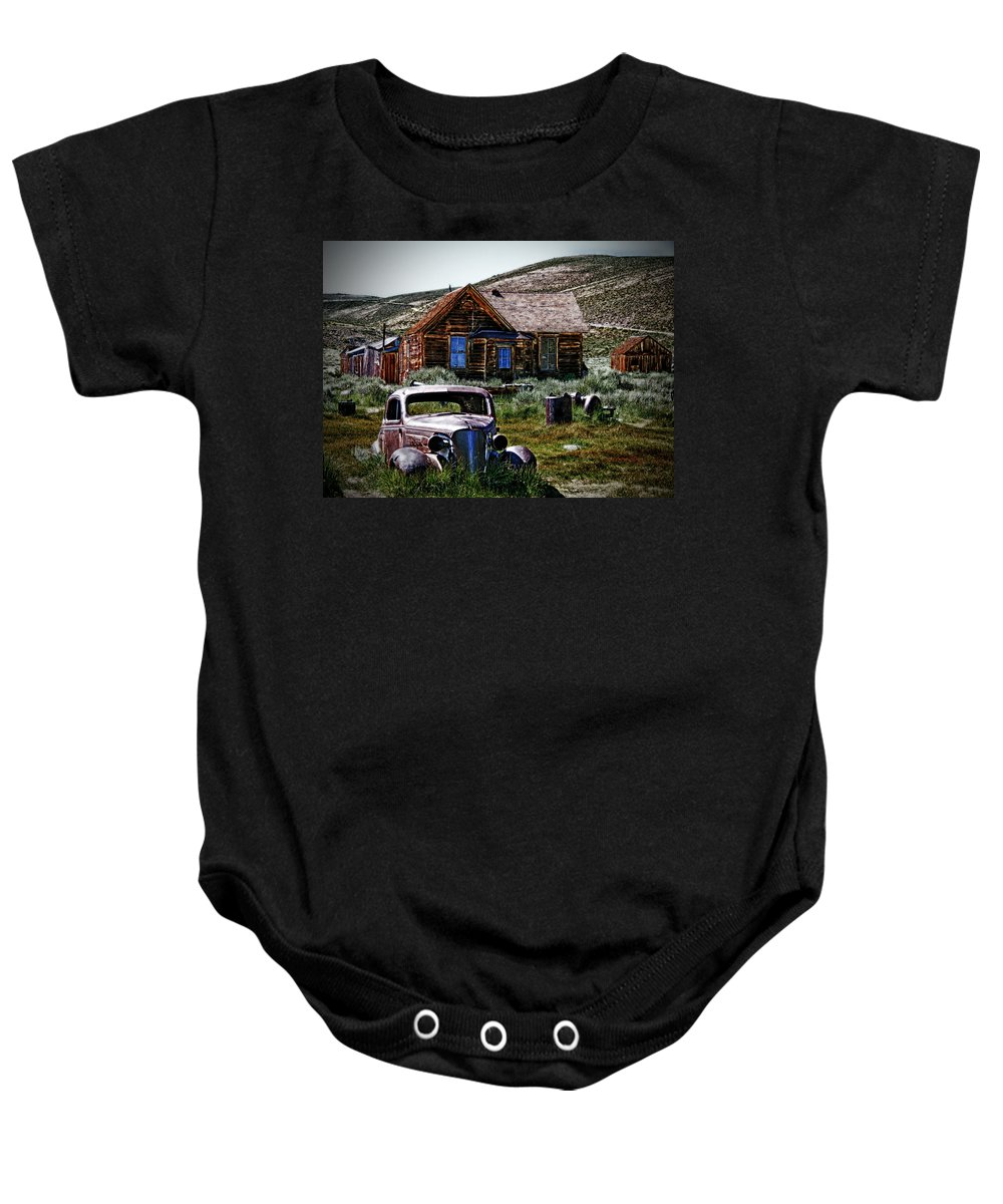 Bodies Finest Another Look Baby Onesie featuring the photograph Bodies Finest 2 by Chris Brannen