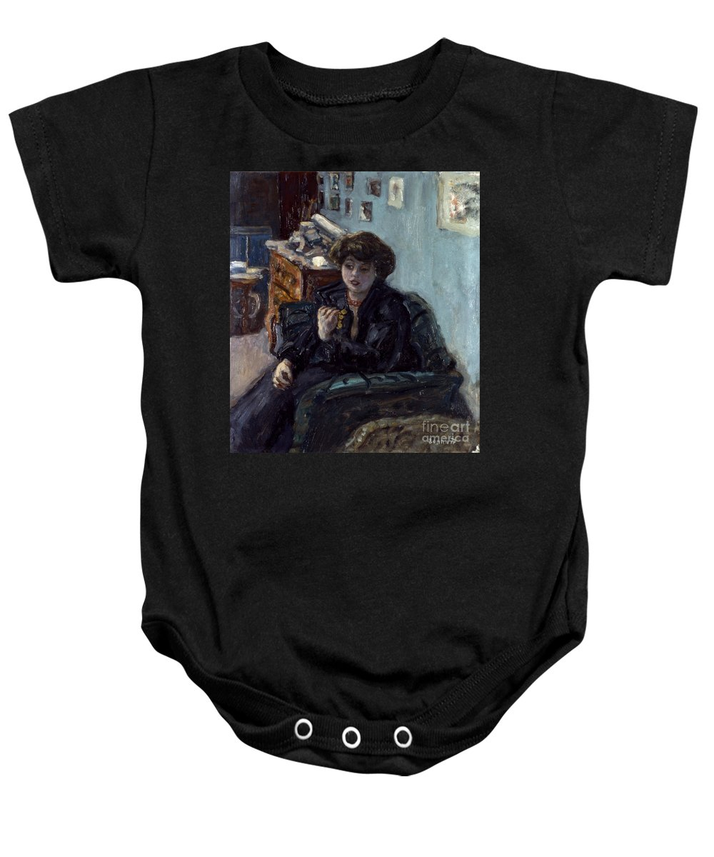 19th Century Baby Onesie featuring the photograph Bonnard: Lady, 19th C by Granger