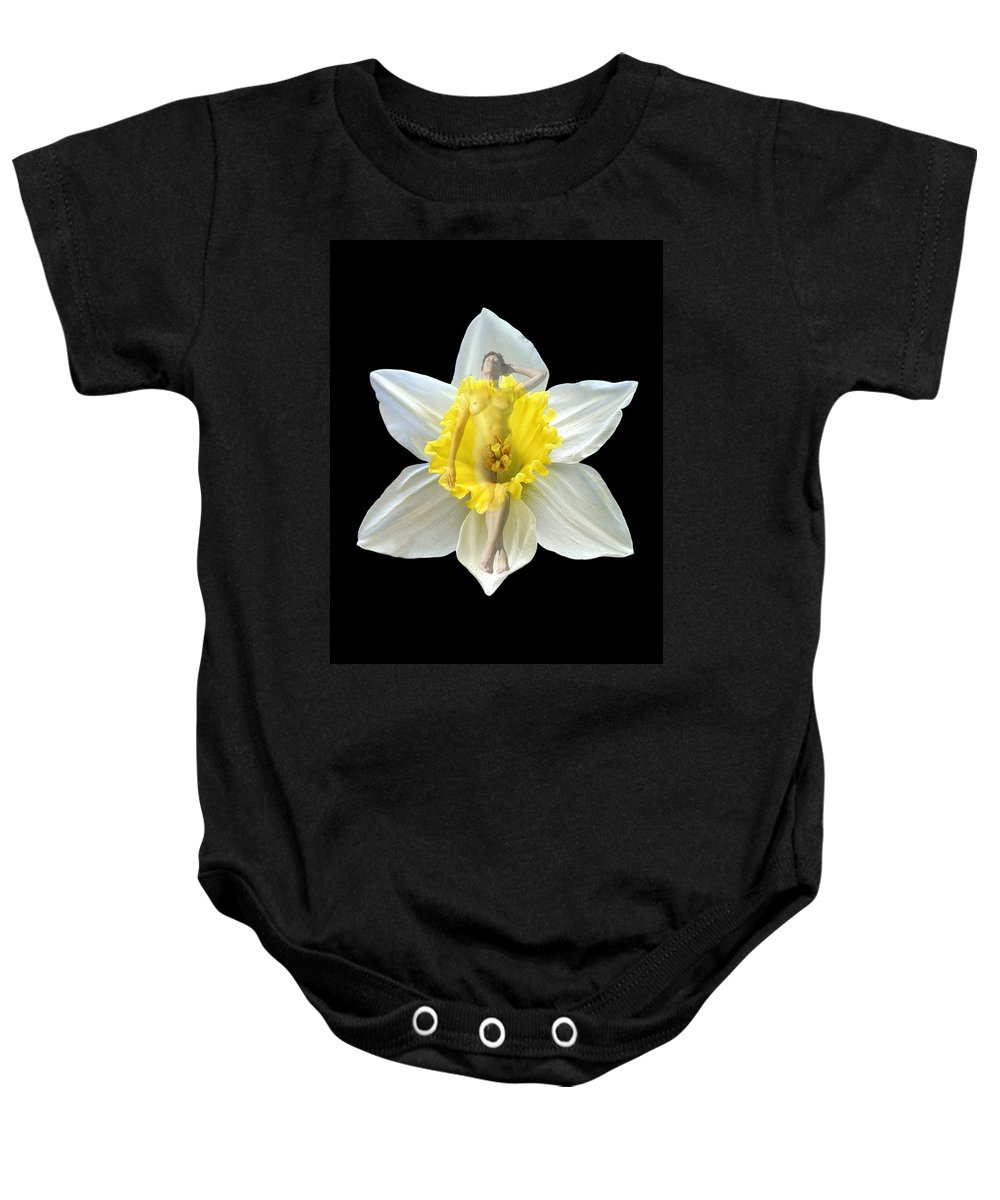 Nudes Baby Onesie featuring the photograph Bouquet by Kurt Van Wagner