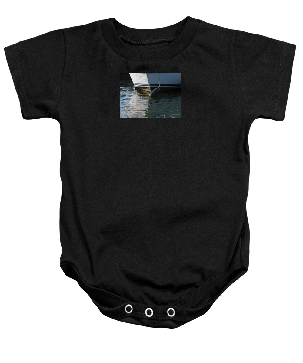 Photography Baby Onesie featuring the photograph Bow And Fender by J R Seymour