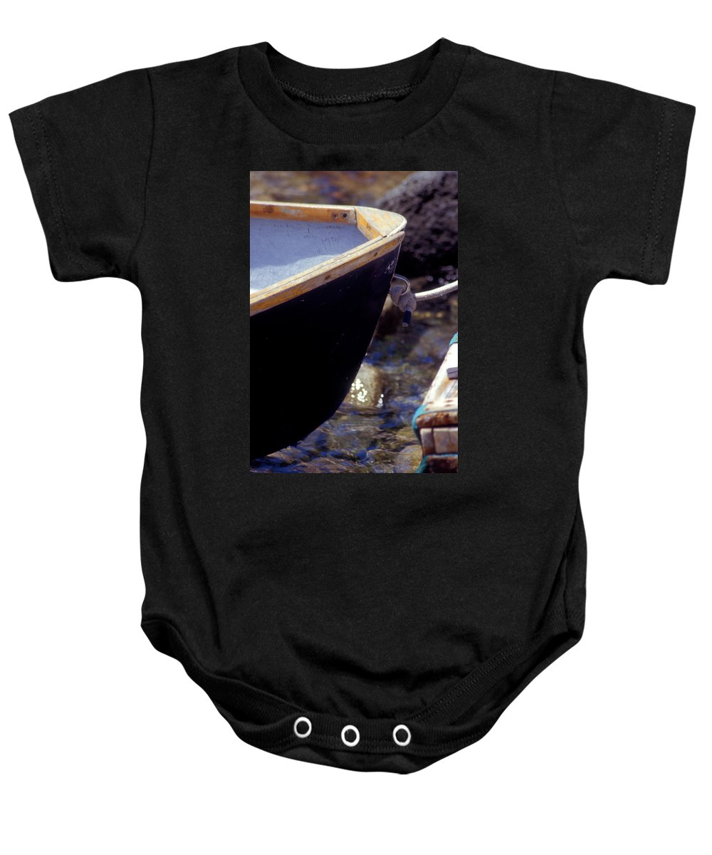 Row Boat Baby Onesie featuring the photograph Bow Tie by Brent L Ander