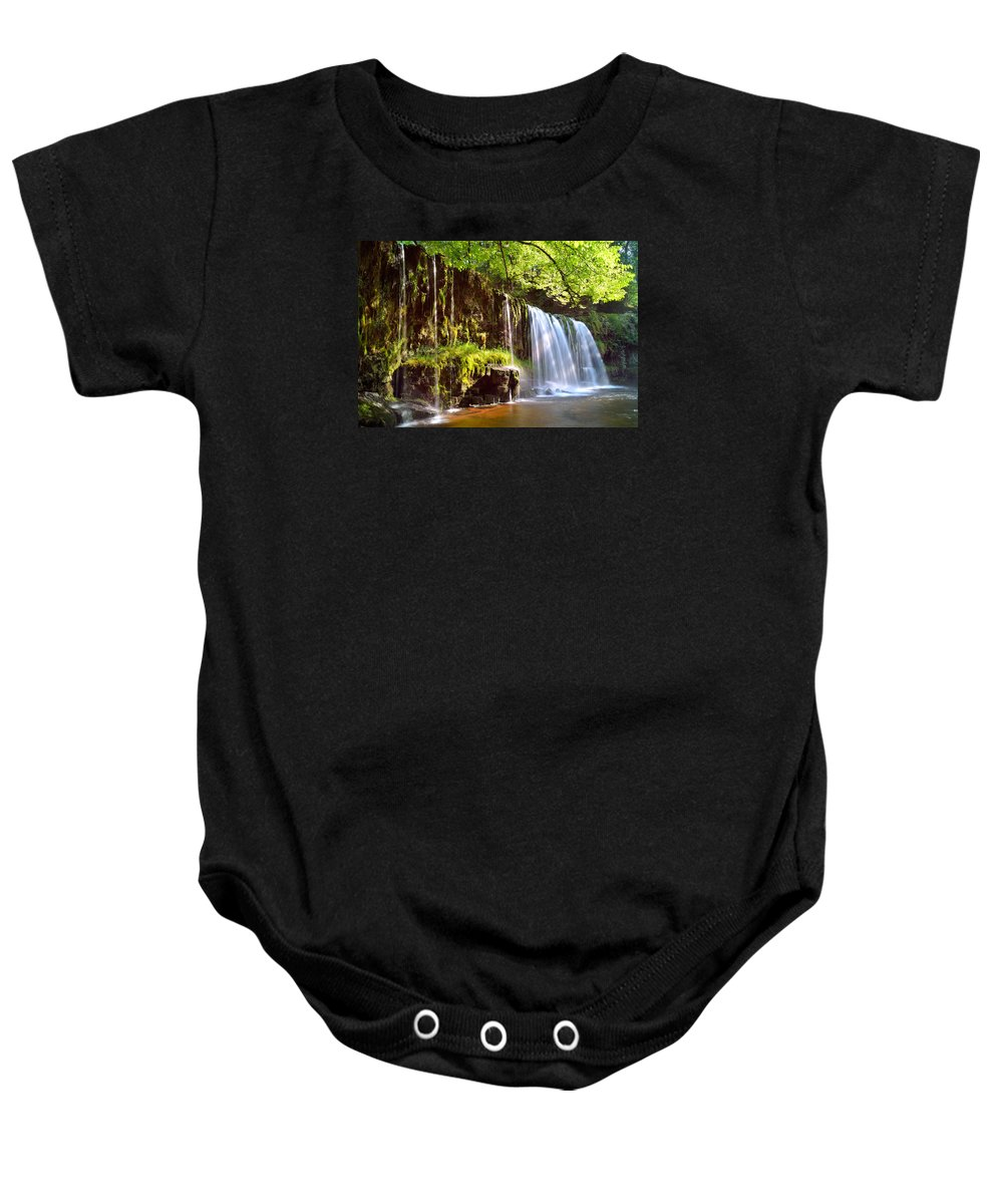 Brecon Beacons Baby Onesie featuring the photograph Brecon Beacons National Park 1 by Phil Fitzsimmons