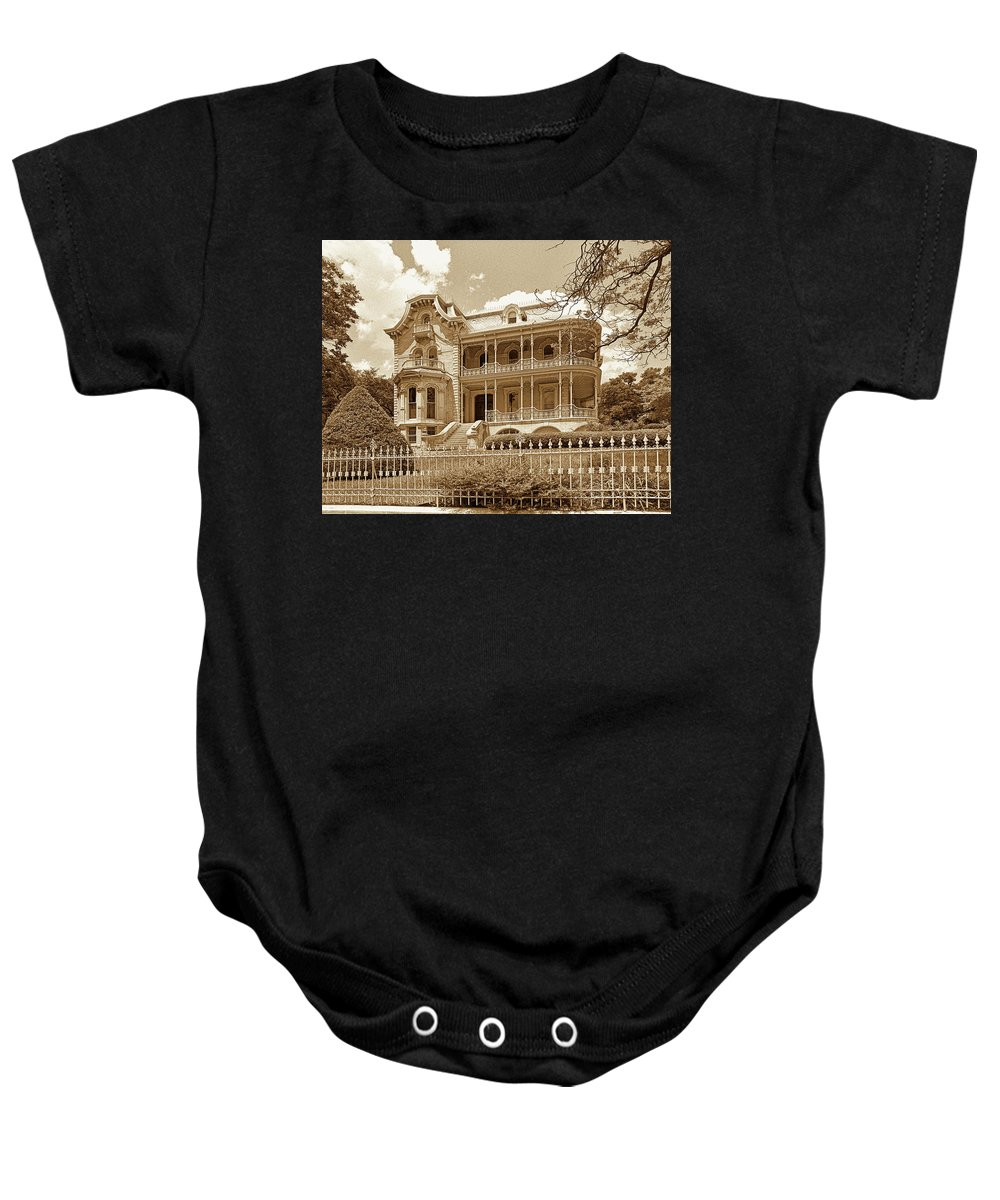 Baby Onesie featuring the photograph Bremond House I I I by Jim Smith