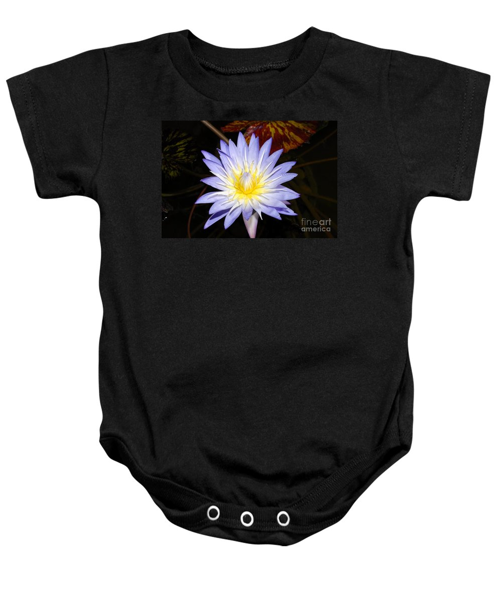 Lily Baby Onesie featuring the photograph Brilliant Beauty by David Lee Thompson
