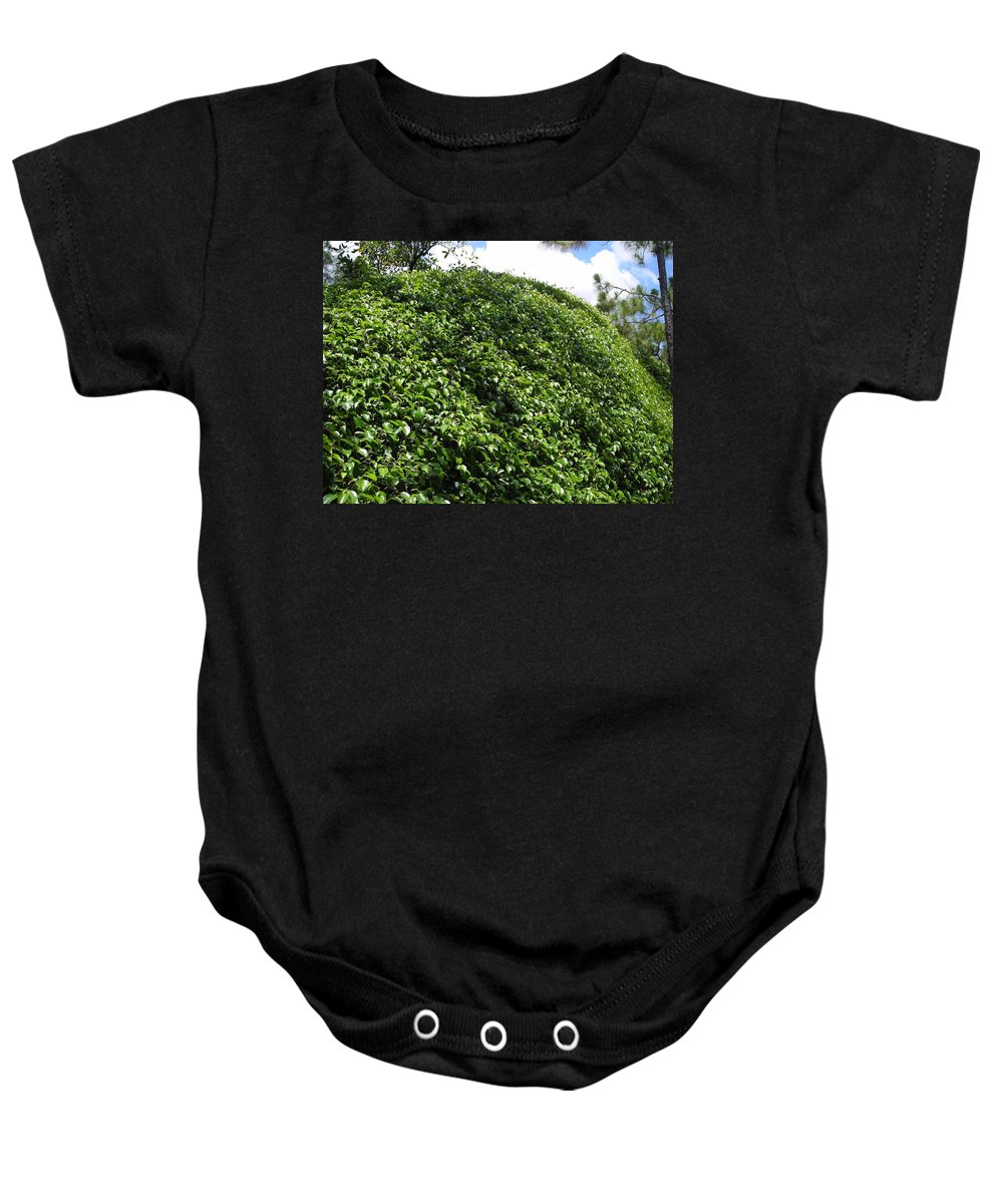 Bush Baby Onesie featuring the photograph Bush Wall by Stacey Marshall