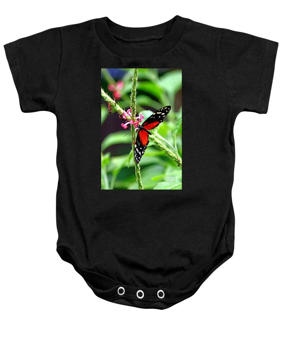 Nature Baby Onesie featuring the photograph Butter by Marle Nopardi