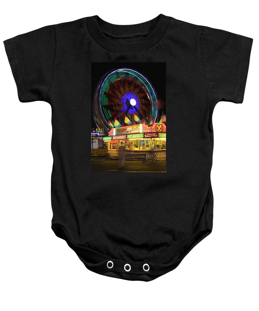 Carnival Images Baby Onesie featuring the photograph Carnival by James BO Insogna