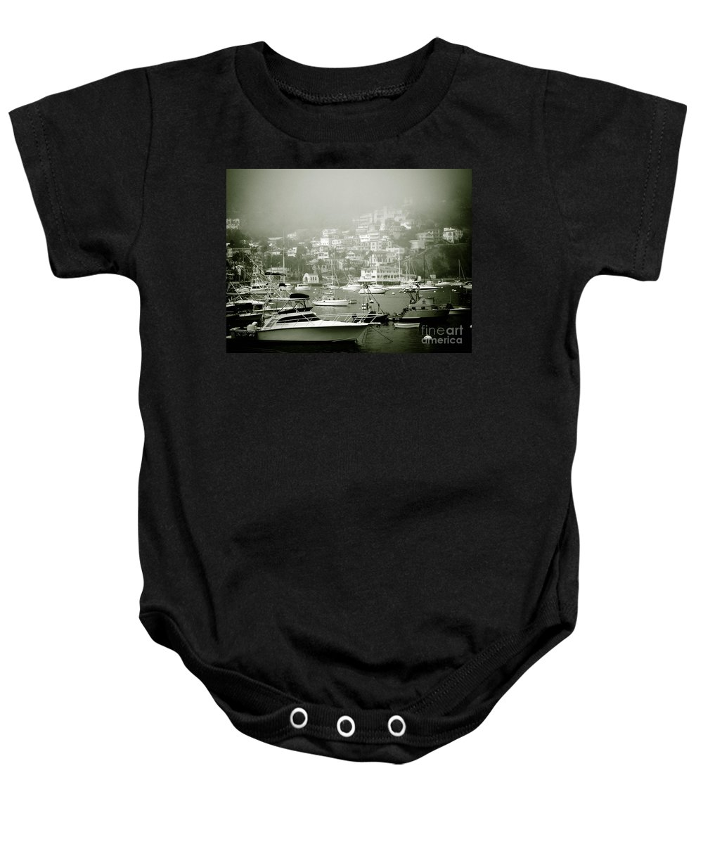 Catalina Island Baby Onesie featuring the photograph Catalina Island by Sonal Dave