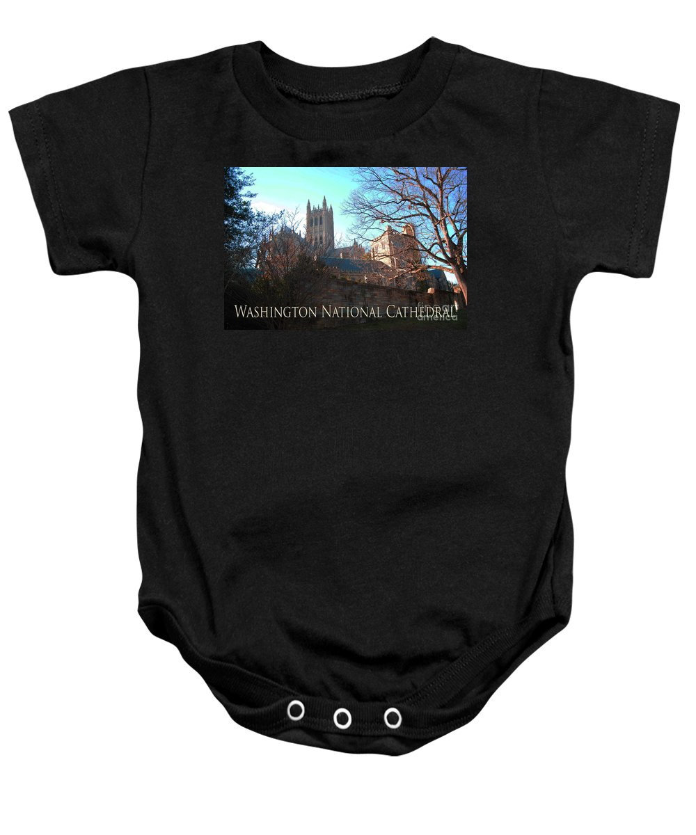 Washington Baby Onesie featuring the photograph Cathedral In The Fall Travel by Jost Houk
