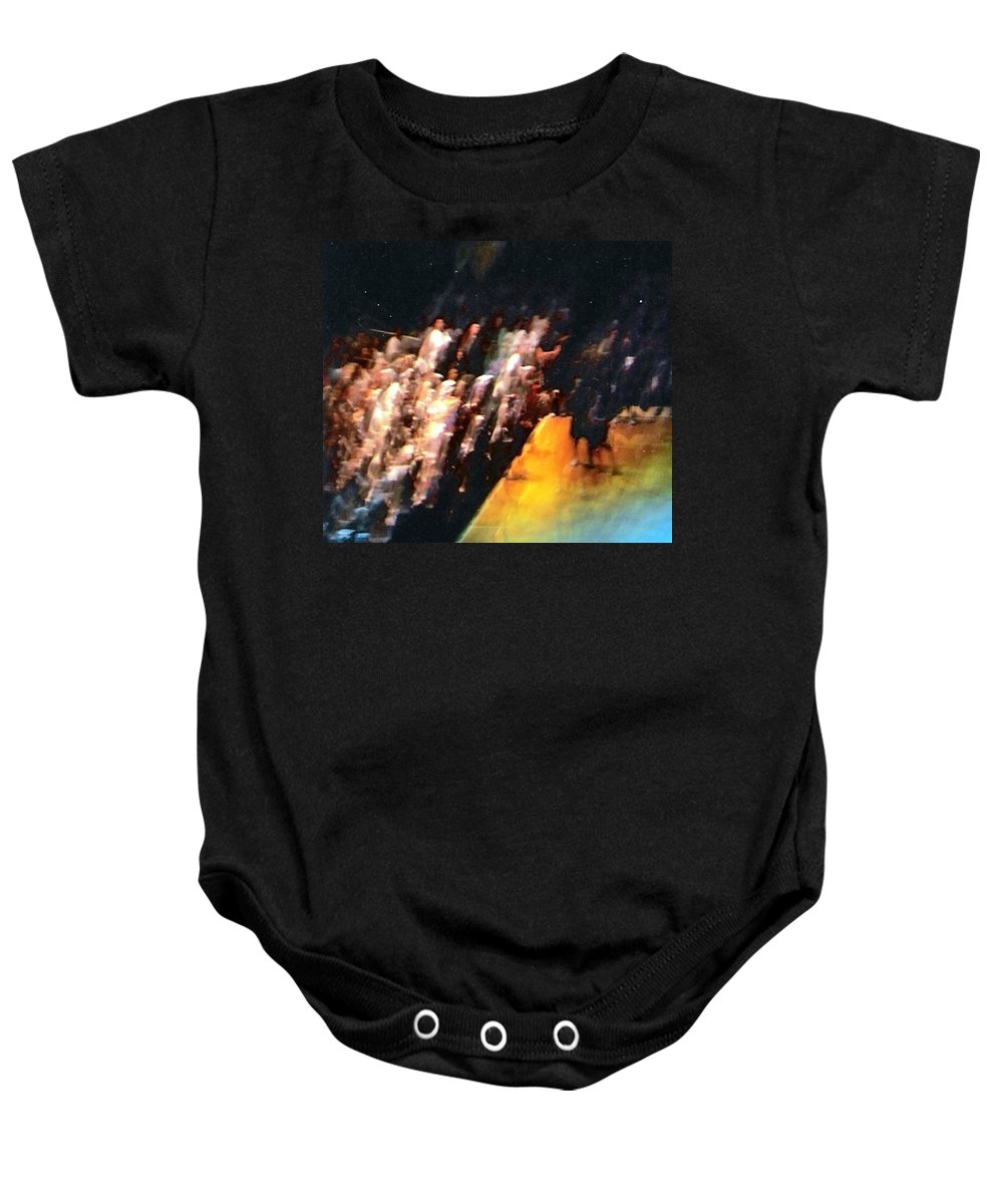 Surreal Baby Onesie featuring the photograph Celestial Applause by Pharris Art
