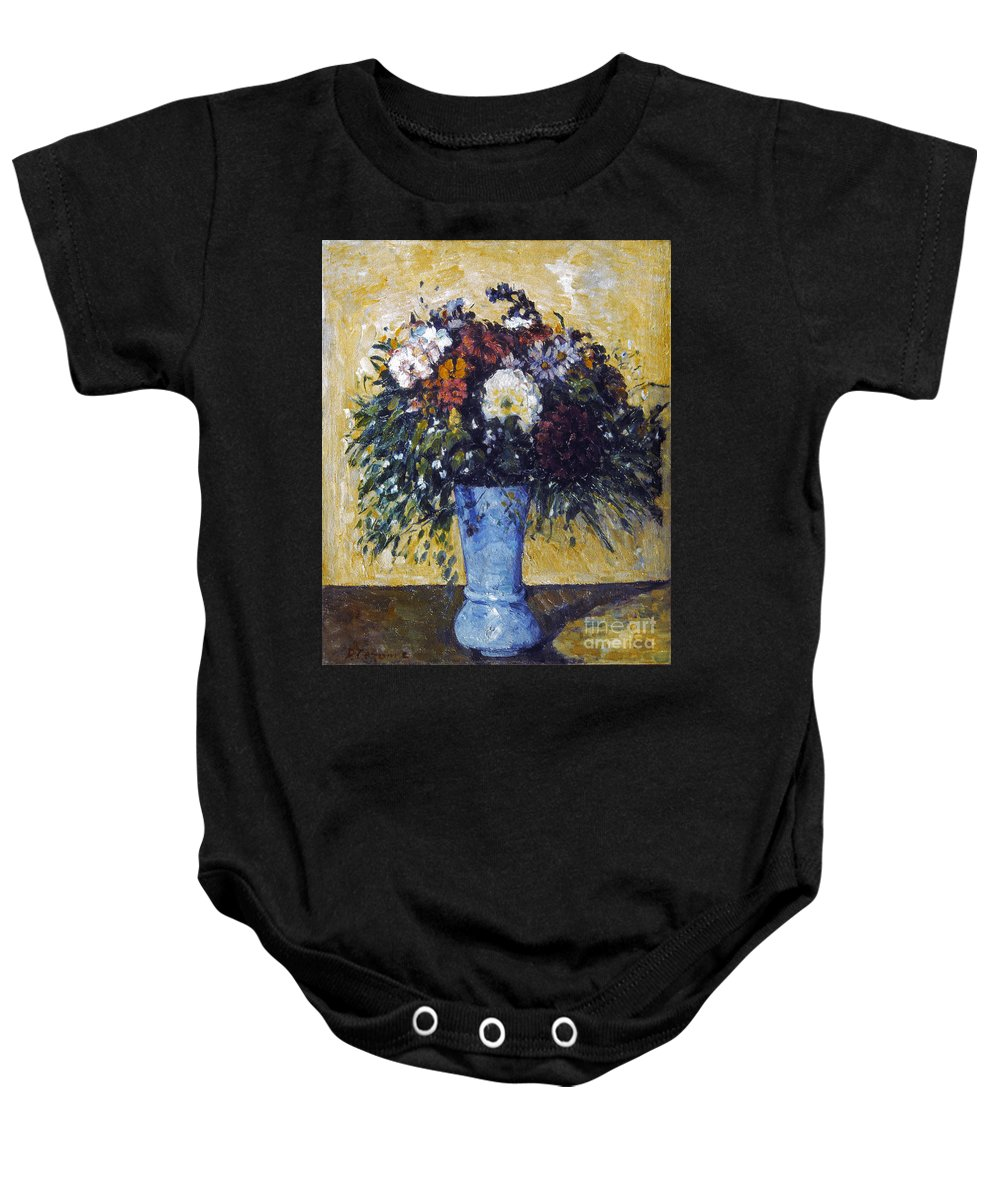 1875 Baby Onesie featuring the photograph Cezanne: Flowers, 1873-75 by Granger